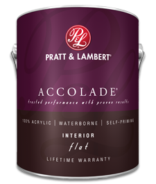 pratt and lambert accolade interior flat paint